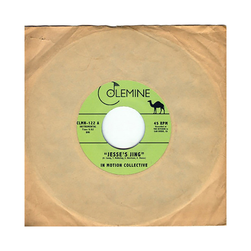 "<!--120131112060660-->In Motion Collective - 'Jesse's Jing/ M.T.A.' [(Black) 7"" Vinyl Single]"