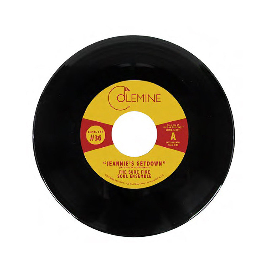 "The Sure Fire Soul Ensemble - 'Jeannie's Getdown/ A Message From The Meters' [(Black) 7"" Vinyl Single]"