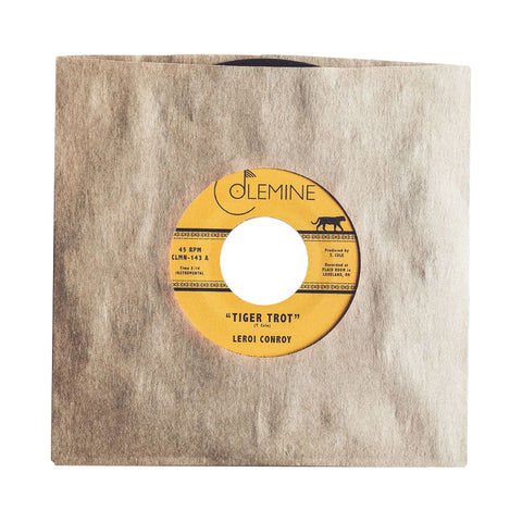 "[""Leroi Conroy - 'Tiger Trot/ Enter' [(Black) 7\"" Vinyl Single]""]"