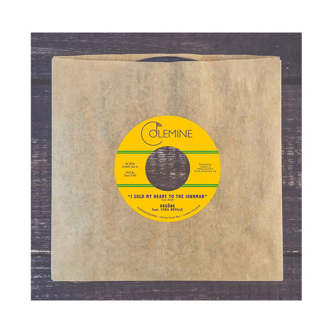 "Orgone - 'I Sold My Heart To The Junkman/ Goodbye NOLA' [(Black) 7"" Vinyl Single]"