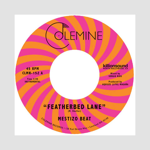 "[""Mestizo Beat - 'Featherbed Lane/ Handcuffed To The Shovel' [(Pink) 7\"" Vinyl Single]""]"