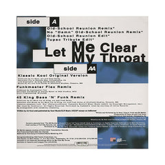 "<!--019970101009776-->DJ Kool - 'Let Me Clear My Throat/ Let Me Clear My Throat (Remixes)' [(Black) 12"" Vinyl Single]"