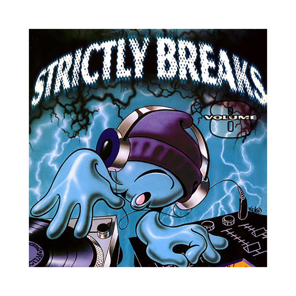 <!--019990101011542-->Strictly Breaks - 'Vol. 08' [(Black) Vinyl LP]
