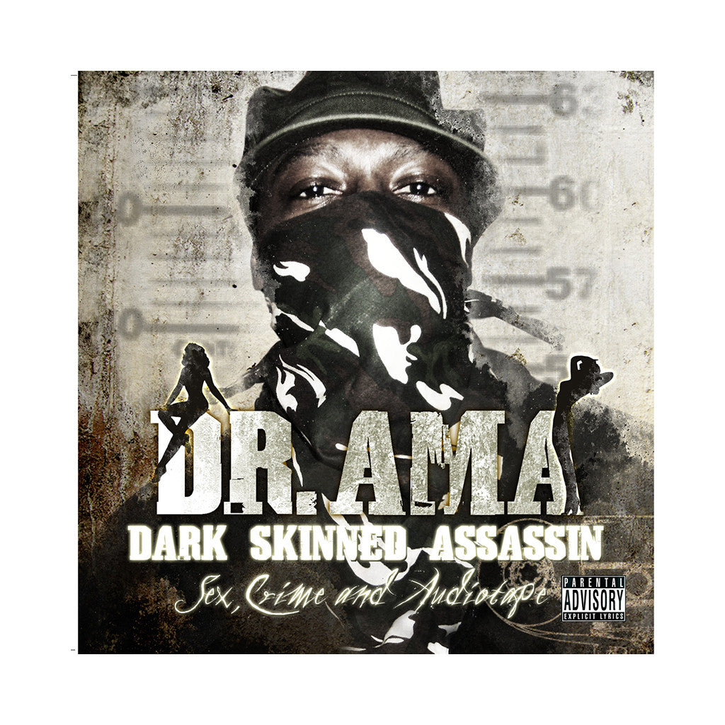 <!--120100511021385-->Dr. Ama - 'Sex, Crime And Audiotape' [CD]