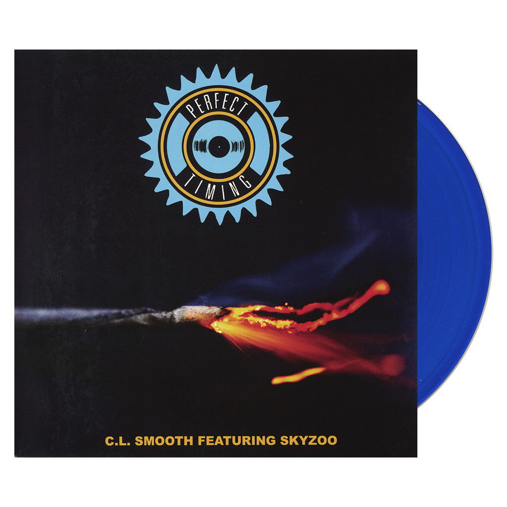 "<!--120160415072550-->C.L. Smooth - 'Perfect Timing' [(Blue) 7"""" Vinyl Single]"