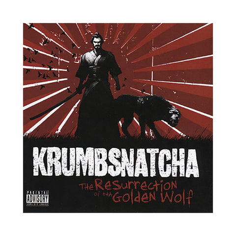 KrumbSnatcha - 'The Resurrection Of Tha Golden Wolf' [CD]