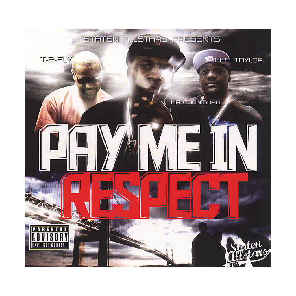 Fes Taylor - 'Pay Me In Respect' [CD]