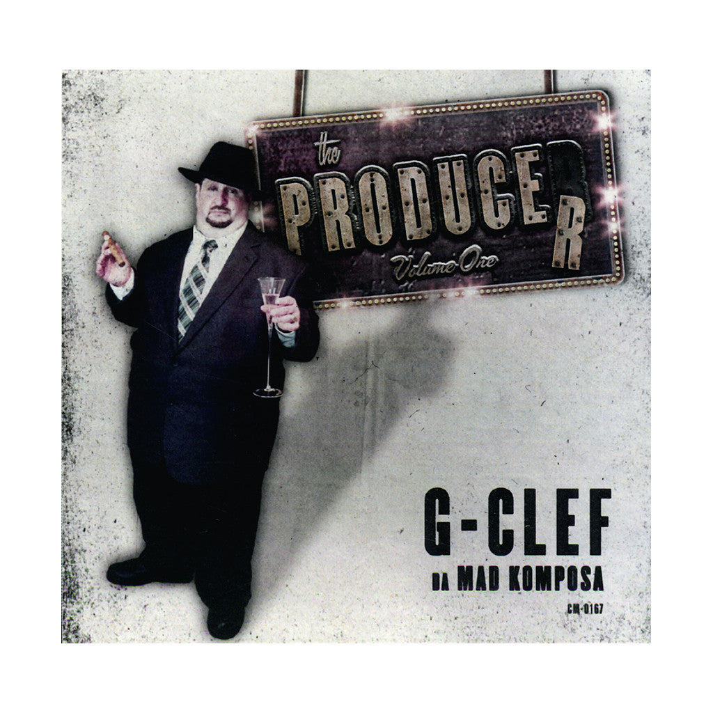 <!--2013082757-->G-Clef Da Mad Komposa - 'The Producer Vol. 1' [CD]