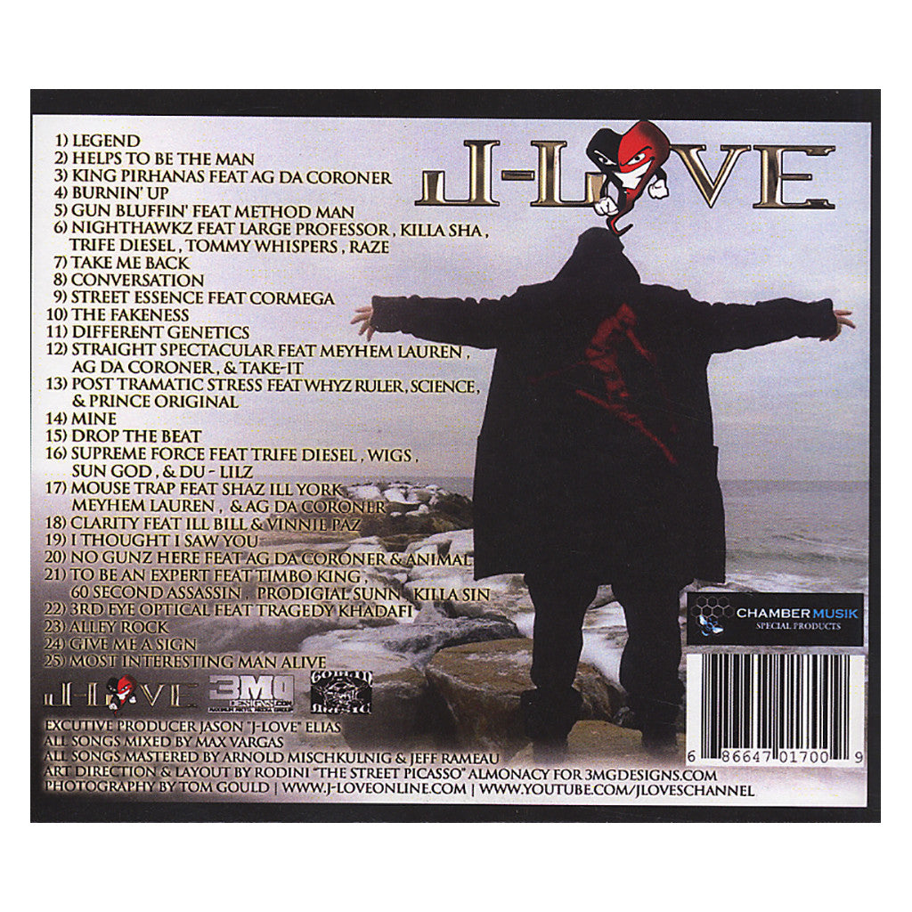 <!--120120828047677-->J-Love - 'Most Interesting Man Alive' [CD]