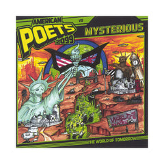 <!--020130521056311-->American Poets 2099 vs. Mysterious - 'The World Of Tomorrow' [CD]