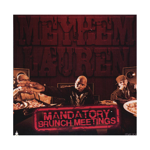"[""Meyhem Lauren - 'Mandatory Brunch Meetings' [CD]""]"