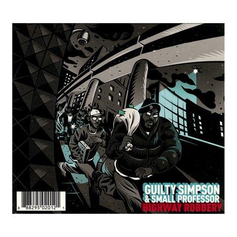 "[""Guilty Simpson & Small Professor b/w Sean Price & M-Phazes - 'Highway Robbery b/w Land Of The Crooks' [CD [2CD]]""]"