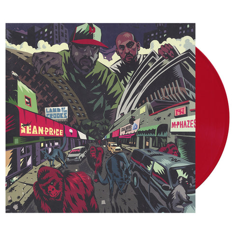 Sean Price & M-Phazes - 'Land Of The Crooks' [(Red) Vinyl EP]