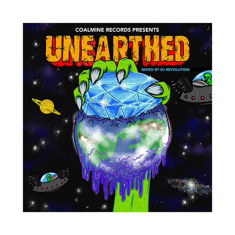 "[""Various Artists (Mixed By: DJ Revolution) - 'Unearthed' [CD [2CD]]""]"