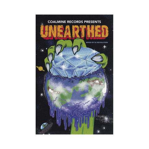Various Artists (Mixed By: DJ Revolution) - 'Unearthed' [(Green Slime) Cassette Tape]