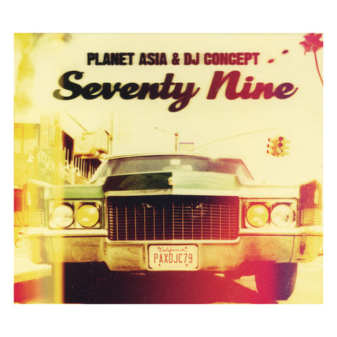 Planet Asia & DJ Concept - 'Seventy Nine' [CD]