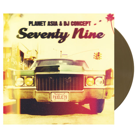 "[""Planet Asia & DJ Concept - 'Seventy Nine' [(Gold) Vinyl LP]""]"