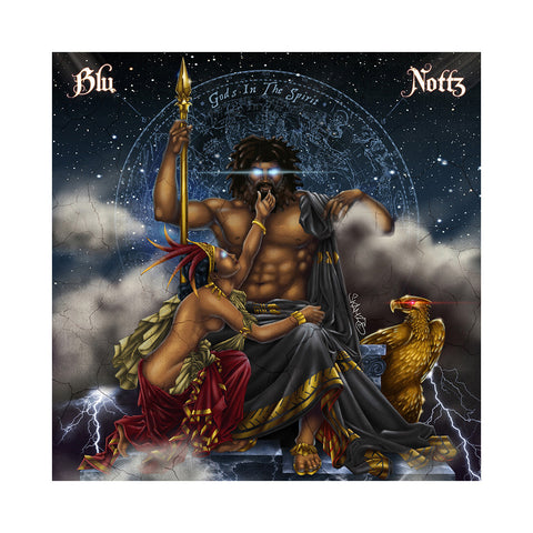 "[""Blu & Nottz - 'Gods In The Spirit (Deluxe Edition)' [(Baby Blue) Vinyl EP]""]"