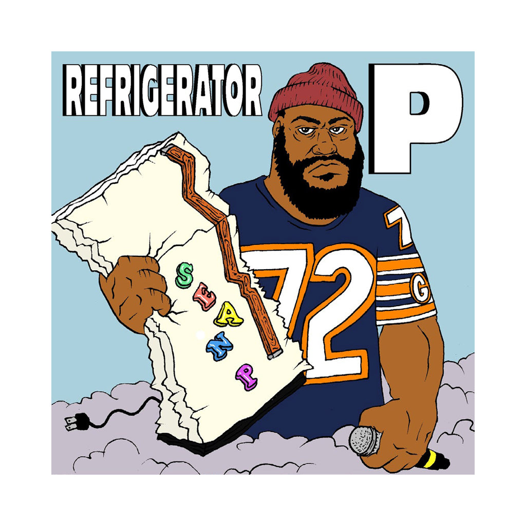 "Sean Price - 'Refrigerator P' [(Black) 10"" Vinyl Single]"