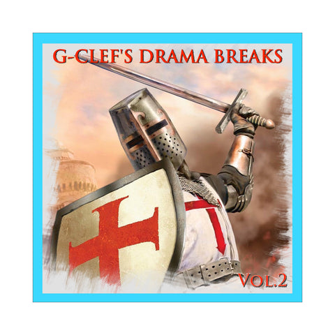 "[""G-Clef Da Mad Komposa - 'Drama Breaks V.2' [CD]""]"