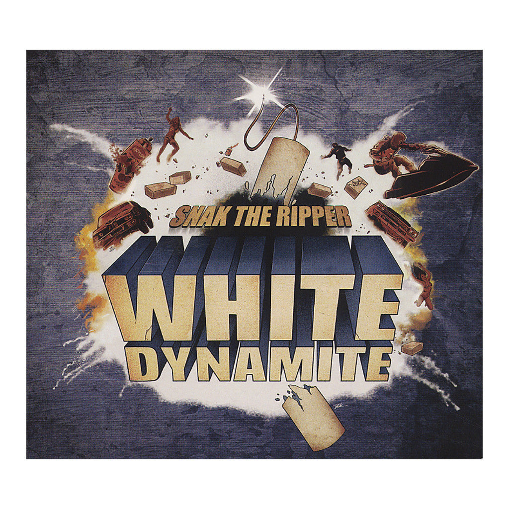 <!--020120619050232-->Snak The Ripper - 'White Dynamite' [CD]