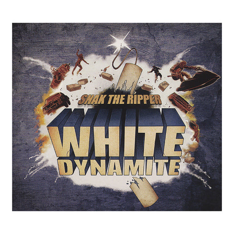 Snak The Ripper - 'White Dynamite' [CD]