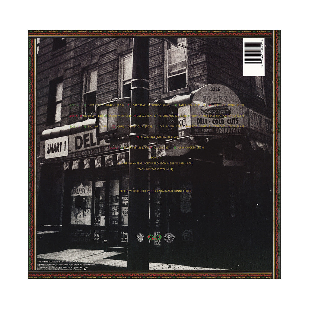 <!--120150120065164-->Joey Bada$$ - 'B4.DA.$$' [(Black) Vinyl [2LP]]