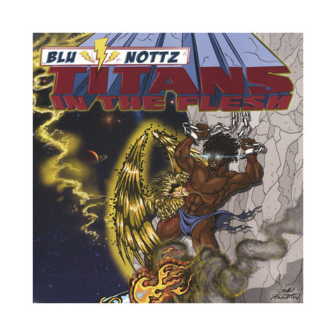 "[""Blu & Nottz - 'Titans In The Flesh' [(Easter Yellow) Vinyl EP]""]"