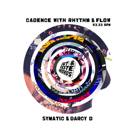 "[""Symatic & Darcy D - 'Cadence With Rhythm & Flow' [(Blue) 7\"" Vinyl Single]""]"