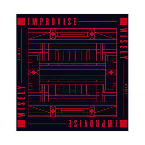 "[""Redmist - 'Improvise Wisely' [(Black) 12\"" Vinyl Single]""]"