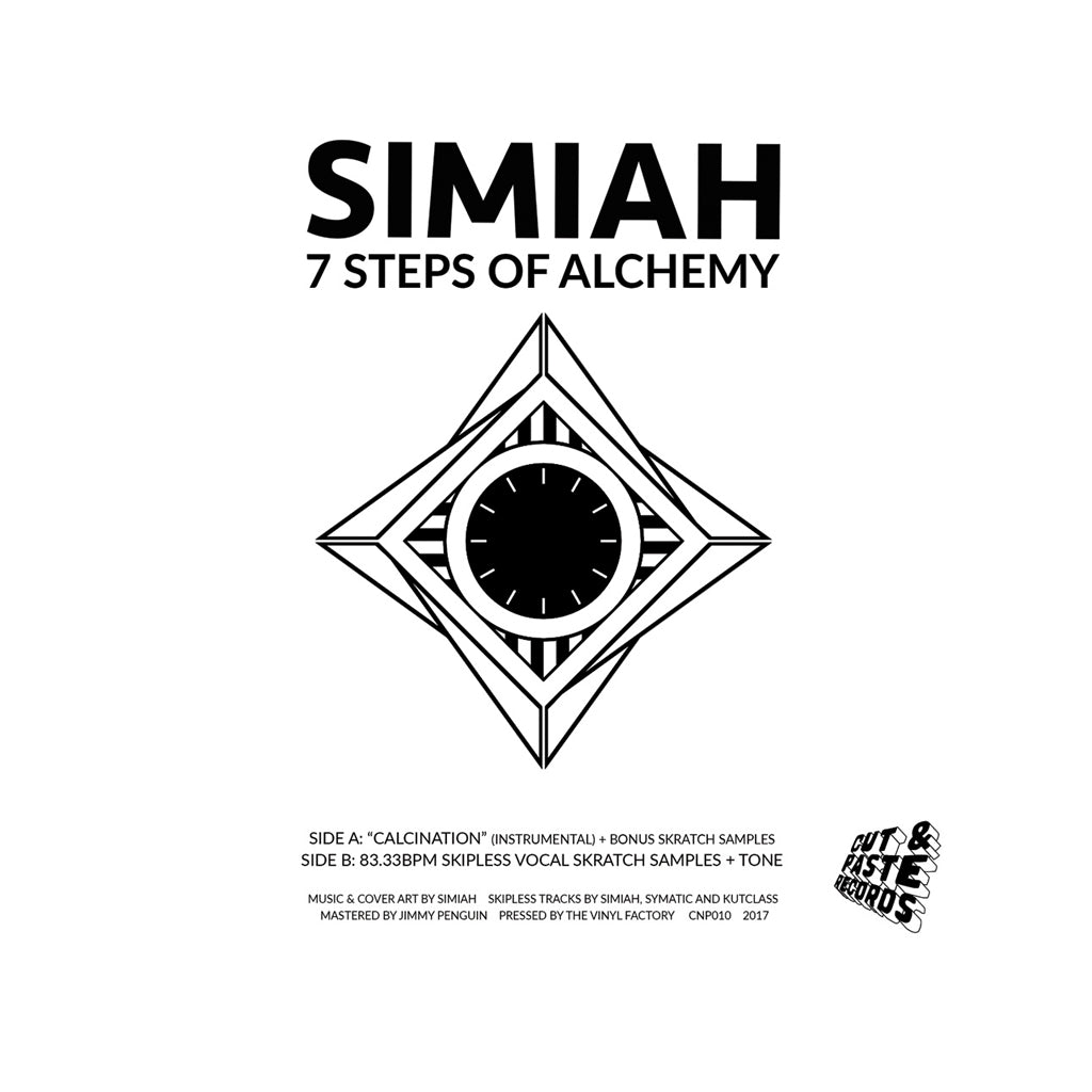 "Simiah - '7 Steps Of Alchemy' [(Black) 7"" Vinyl Single]"
