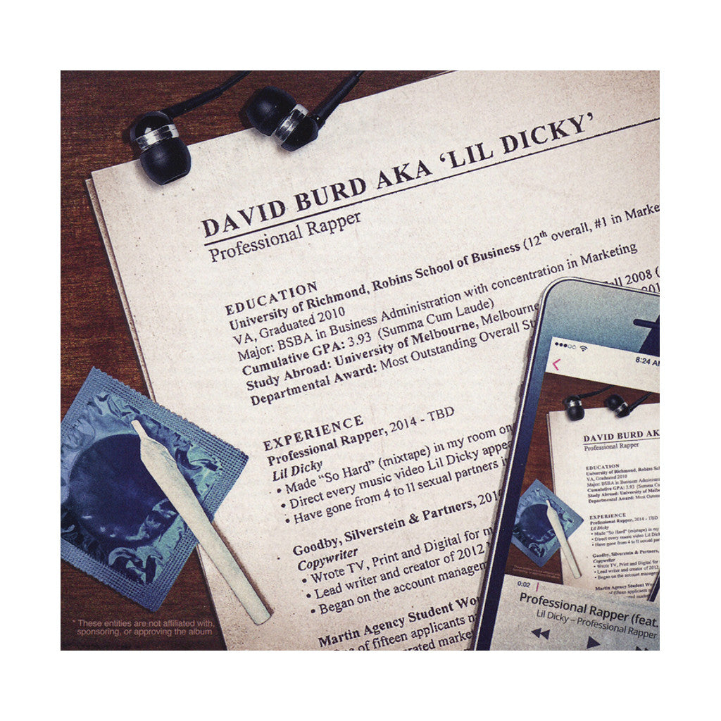 <!--2015081223-->Lil Dicky - 'Professional Rapper' [Streaming Audio]