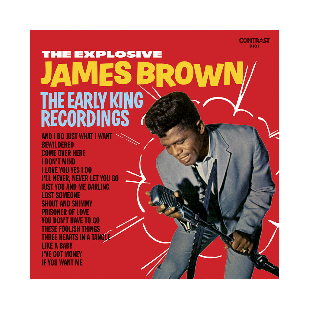 James Brown - 'The Explosive James Brown' [(Black) Vinyl LP]