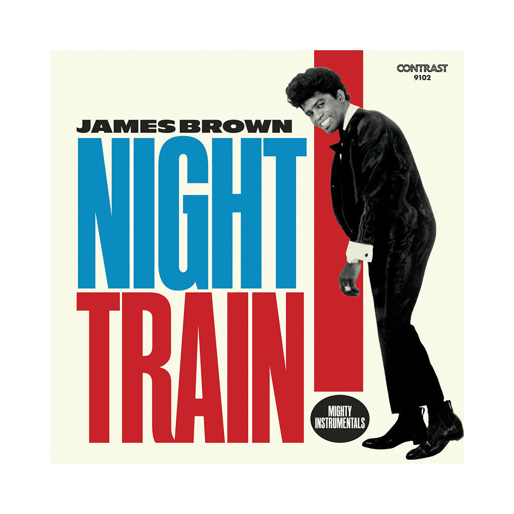 James Brown - 'Night Train: Mighty Instrumentals' [(Black) Vinyl LP]