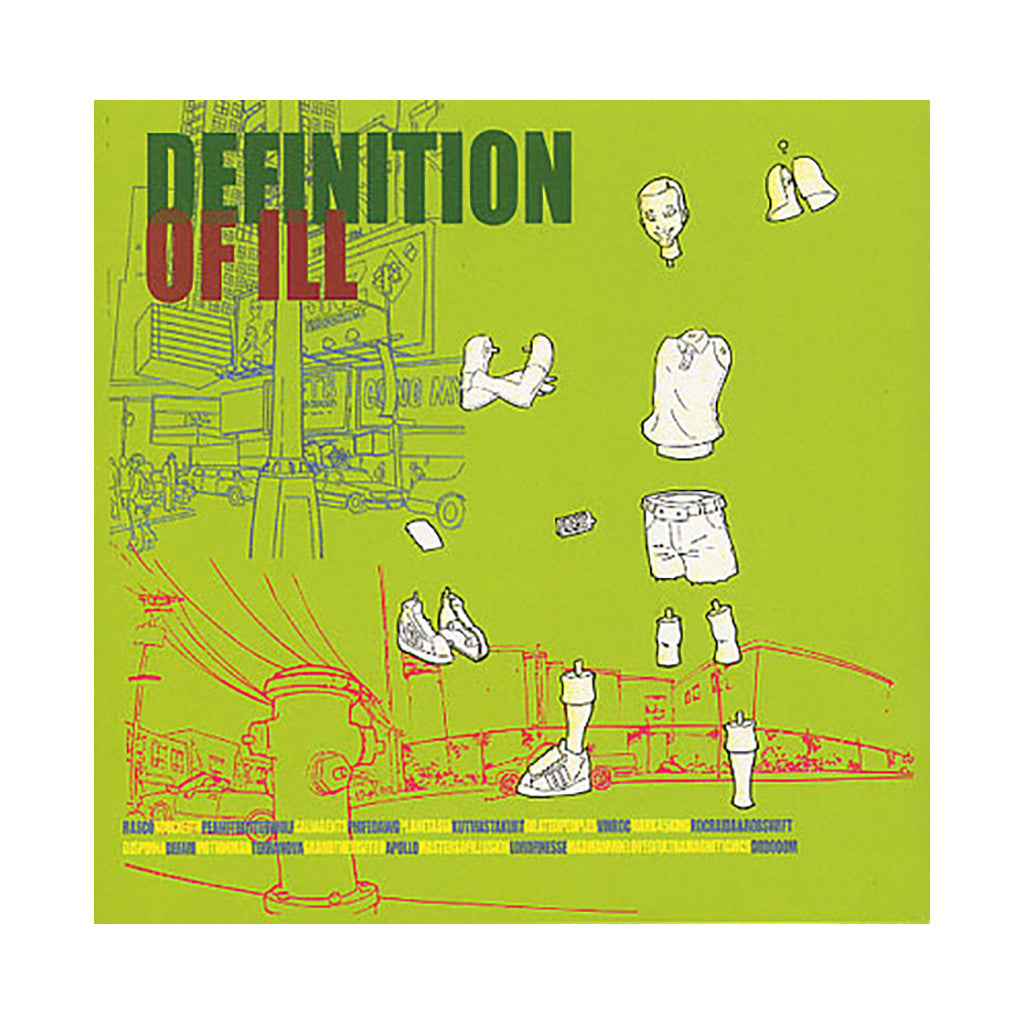 <!--2011083027-->Peanut Butter Wolf - 'Definition Of Ill' [Streaming Audio]