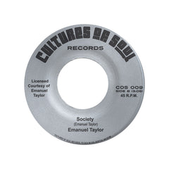 "<!--2012072451-->Emanuel Taylor - 'You Really Got A Hold On Me/ Society' [(Black) 7"" Vinyl Single]"