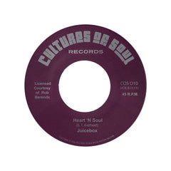 "<!--020120904052697-->Juicebox - 'Heart 'N Soul/ My Baby Likes To Boogaloo' [(Black) 7"" Vinyl Single]"