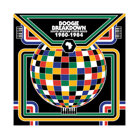 "[""Various Artists - 'Boogie Breakdown: South African Synth-Disco 1980-1984' [(Black) Vinyl [2LP]]""]"