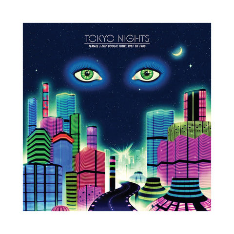 "[""Various Artists - 'Tokyo Nights: Female J-Pop Boogie Funk 1981 To 1988' [(Black) Vinyl [2LP]]""]"