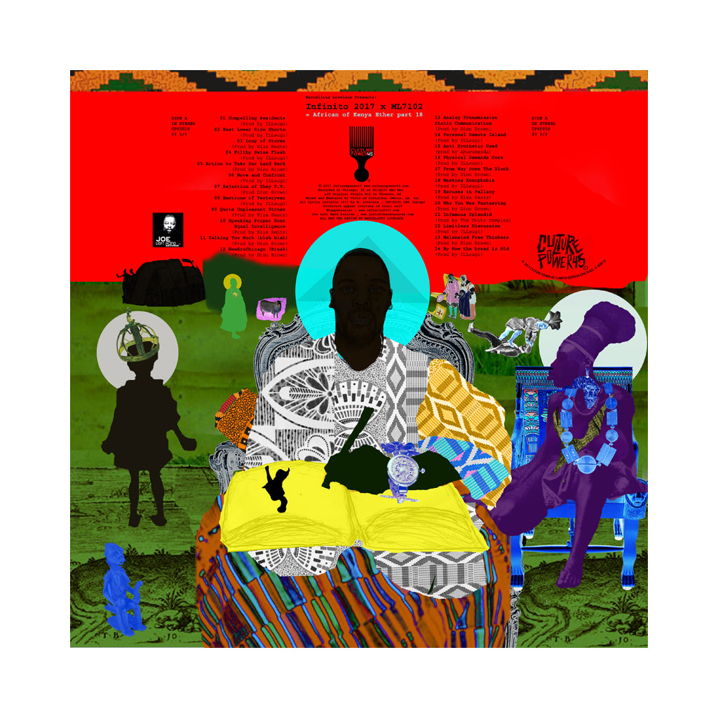 Infinito:2017 - 'African of Kenya Ether Part 18' [(Random) Vinyl LP]