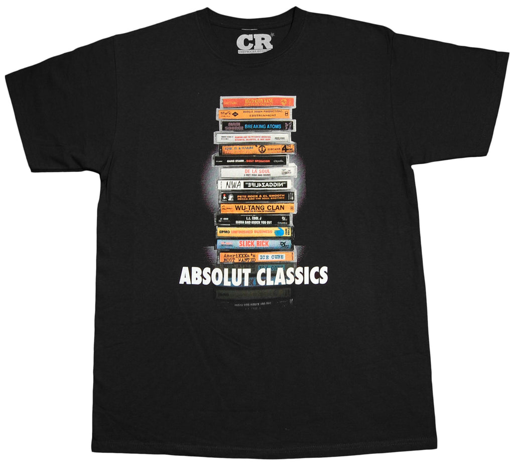 <!--2010010555-->ChiefRocka Industries - 'Absolut Classics' [(Black) T-Shirt]