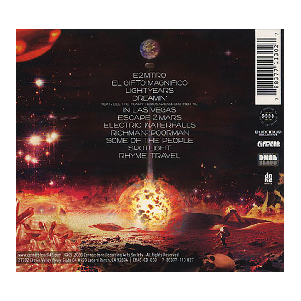 <!--2009110322-->Gift Of Gab - 'Escape 2 Mars' [CD]