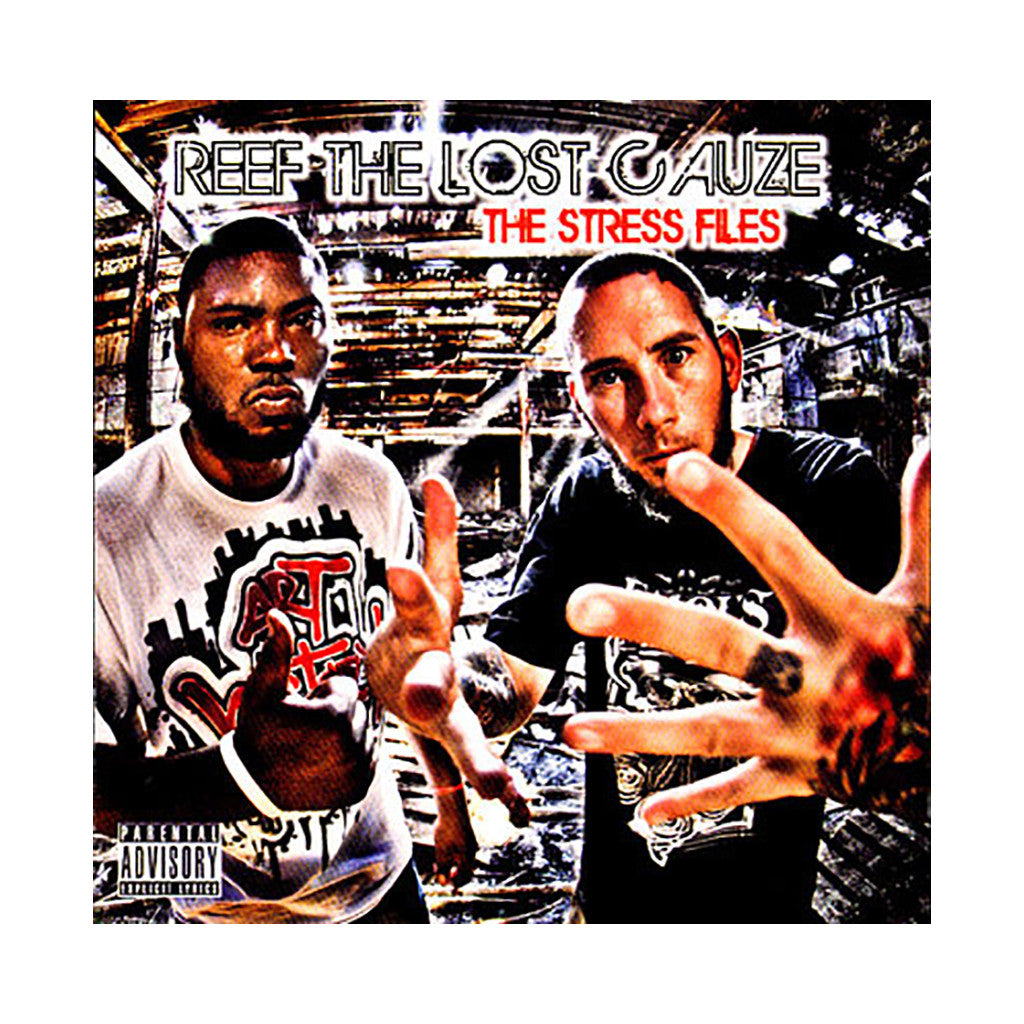 <!--020081209015586-->Reef The Lost Cauze - 'The Stress Files' [CD]