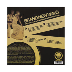 Various Artists - 'Brand New Wayo: Funk, Fast Times & Nigerian Boogie Badness 1979-1983' [(Black) Vinyl [2LP]]