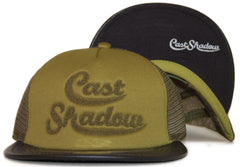 <!--020111018037301-->Cast Shadow - 'Cricket' [(Dark Green) Snap Back Hat]