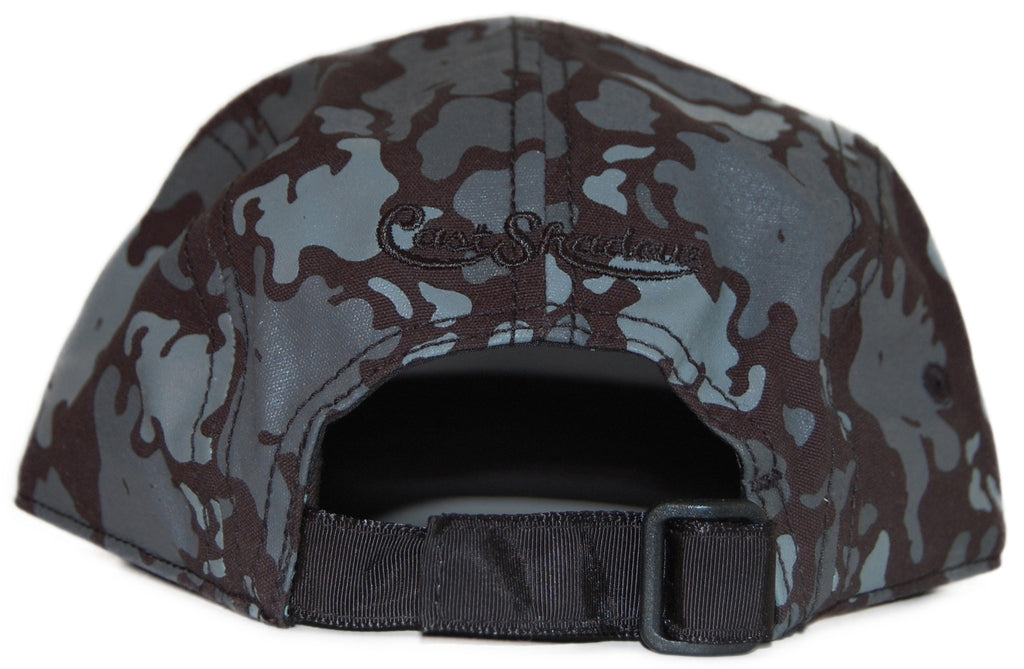 <!--020111018037305-->Cast Shadow - 'Global Camo' [(Black) Five Panel Camper Hat]