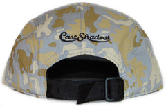 <!--020111018037304-->Cast Shadow - 'Global Camo' [(Light Gray) Five Panel Camper Hat]