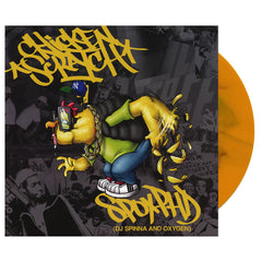 "<!--020140729064667-->SPOX PhD - 'Chicken Scratch/ Actual Fact' [(Yellow) 7"" Vinyl Single]"