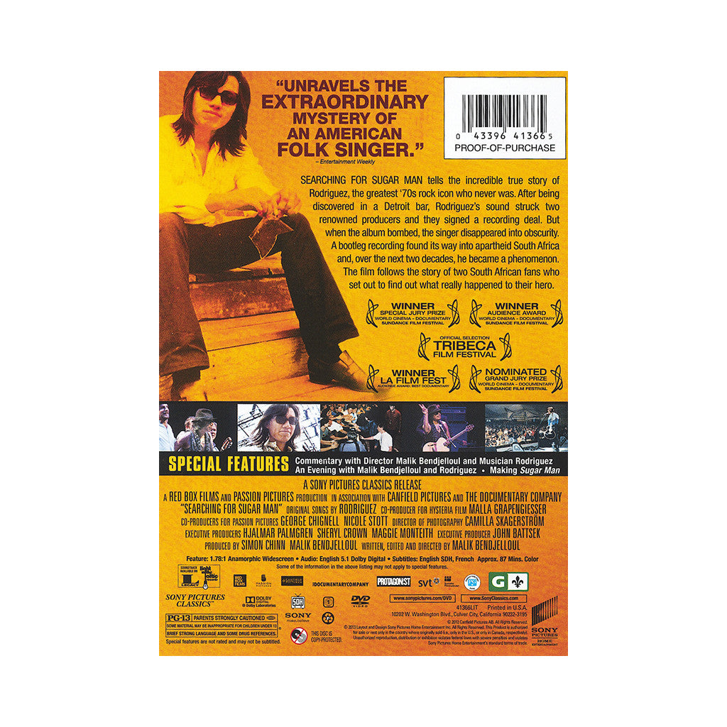 <!--120130122052104-->Rodriguez - 'Searching For Sugar Man' [DVD]