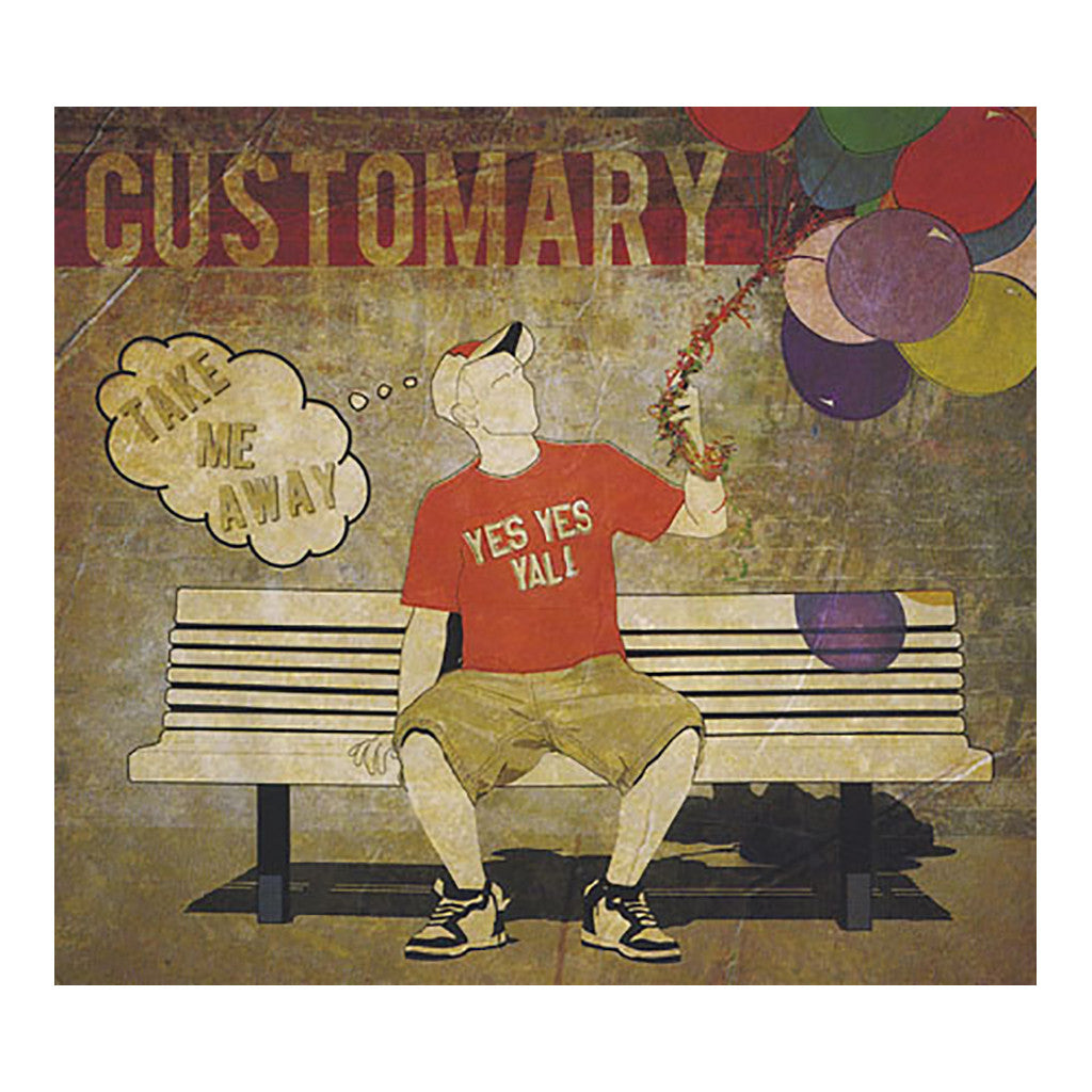 <!--020101102026339-->Customary - 'Take Me Away' [CD]